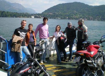 Maggio 2009 Primo CTBT tour Lago di Como
